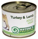 Nature's Protection Dog konz.Light Krůta/jehně 200g