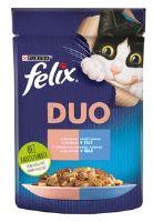Felix Fantastic Duo losos a sardinky v želé 85g