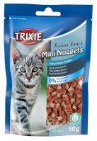 Trainer Snack MINI NUGGETS s tuňákem, kuřecím a catnipem 50g