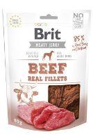 Brit Jerky Beef Fillets 80g