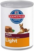 Hill's Canine Adult Light konzerva kuřecí 370g