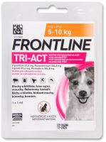 Frontline TRI-ACT spot-on dog S pro psy 5-10kg (1x1ml)