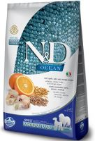 N&D OCEAN DOG Grain Free Adult Medium/Large Codfish & Pumpkin & Orange 12kg