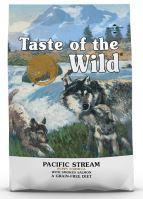 Taste of the Wild Pacific Stream Puppy 12,2kg + obojek FORESTO 70cm