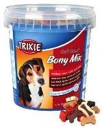 Soft Snack Bony MIX - hovězí, jehněčí, losos, kuře 500g Trixie