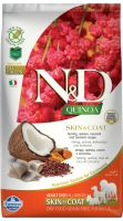 N&D Grain Free Quinoa DOG Skin & Coat Herring & Coconut 2,5kg - EXP 06/2021