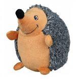 Plyšový ježek šedý 12cm