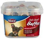 Soft Snack BAFFOS mini kolečka hovězí,dršťky,pl.kelímek 140g