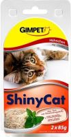 Gimpet Shiny cat konzerva - kuře 2x70g