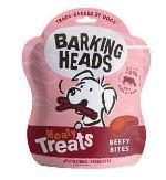 BARKING HEADS Meaty Treats Beefy Bites 100g