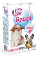 LOLO BABY kompl. krmivo pro králíky do 3 měsíců 400g krabička