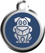 Známka - Pes - Modrá