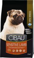 CIBAU Dog Adult Sensitive Lamb & Rice Mini 800g