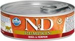 N&D CAT PUMPKIN Adult Quail & Pumpkin 80g - 1 + 1 ZDARMA