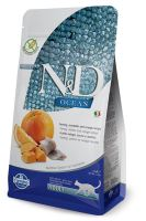 N&D OCEAN CAT Grain Free Adult Herring, Pumpkin & Orange 1,5kg