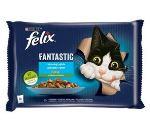 Felix Fantastic rybí výběr se zeleninou 4x85g