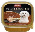 Paštika ANIMONDA Vom Feinsten CORE hovězí, jogurt + vločky 150g