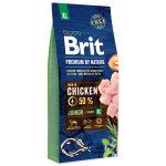 BRIT Premium by Nature Junior XL 15kg + obojek FORESTO 70cm