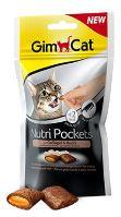 Gimcat Nutri pockets drůběží s biotinem 60g