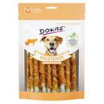 Dokas - Tyčinky z hovězí kůže obalené kuřecím 200g