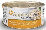 APPLAWS konzerva Cat kuřecí prsa a sýr 70g