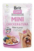 Brit Care Dog Mini Chicken&Tuna fillets in gravy 85g