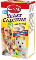 SANAL-YEAST CALCIUM kalciové tablety 4x100g