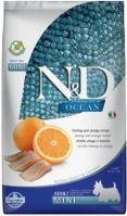 N&D OCEAN DOG Grain Free Adult Mini Herring & Orange 2,5kg
