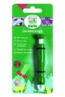 Kleště na klíšťata plast zelené