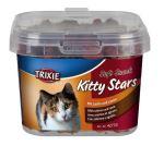 Soft Snack Kitty Stars - hvězdičky losos, jehněčí 140g