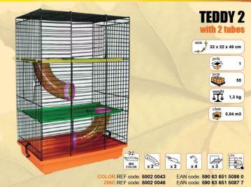 Klec TEDDY II. 320x220x490mm