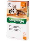 Advantage 40 10% 1x0,4ml pro kočky a králíky do 4kg