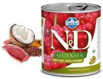 N&D DOG QUINOA Adult Duck & Coconut 285g - 1 + 1 ZDARMA