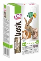 LOLO BASIC granulované krmivo pro hlodavce 500g krabička