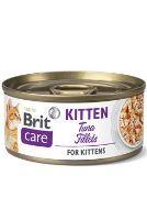 Brit Care Cat konz Fillets Kitten Tuna 70g