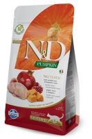 N&D Grain Free Pumpkin CAT NEUTERED Quail & Pomegranate 1,5kg