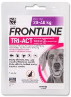 Frontline TRI-ACT spot-on dog L pro psy 20-40kg (1x4ml) - EXP 03/2021