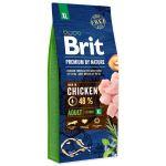 BRIT Premium by Nature Adult XL 15kg - POŠKOZENÝ OBAL