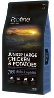 Profine NEW Dog Junior Large Chicken & Potatoes 15kg