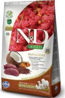N&D Grain Free Quinoa DOG Skin & Coat Venison & Coconut 7kg