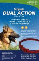 Sergeanťs Dual Action antipar. obojek pro psy 65cm