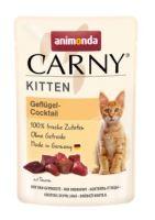 Animonda Carny Kitten drůbeží koktejl, kapsička pro koťata 85g