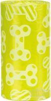 Náhradní sáčky žluté na trus M s vůní citrónů (4 role á 20ks)