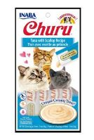 Churu Cat Tuna with Scallop 4x14g