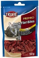Premio DUCK FILET BITES - kousky kachních prsíček 50g