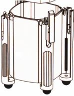 Náhradní díl plastová nádoba pro Atman CF
