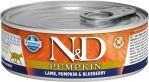N&D CAT PUMPKIN Adult Lamb & Blueberry 80g - 1 + 1 ZDARMA
