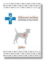 Očkovací průkaz pes Calibra mezinárodní