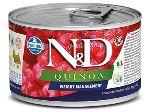 N&D DOG QUINOA Adult Weight Management Lamb & Brocolli Mini 140g