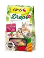 Gimbi Drops Grain Free pro hlodavce mix 50g
